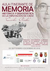 Aula Itinerante de Memoria Histórica y Democrática `Carlos Perales´