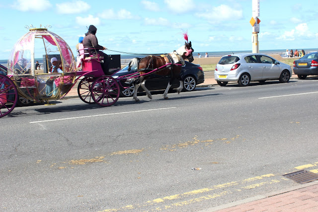 Horsed And Carriages In Blackpool
