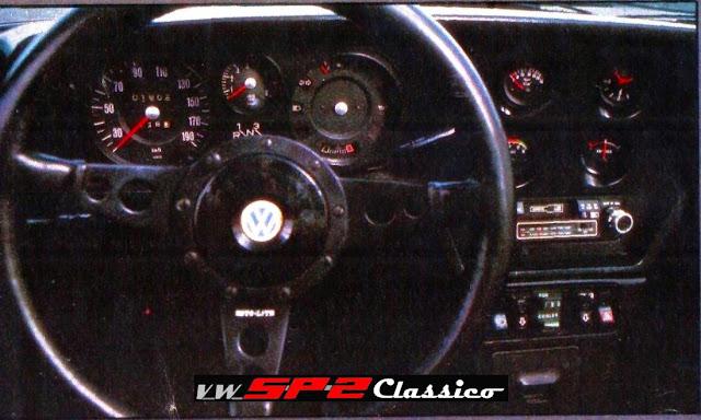 Painel do protótipo VW SP3