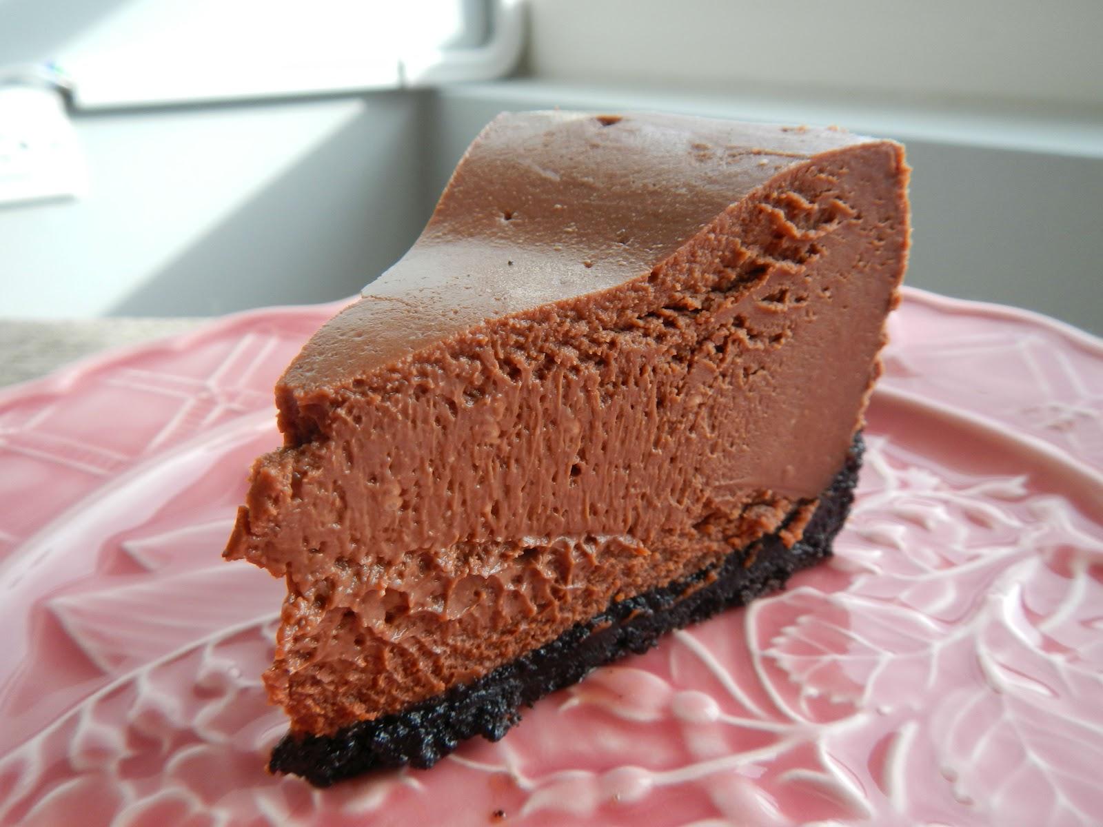 My Food Affair Chocolate Cheesecake