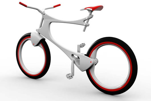 Creative and Unique Bike Design of Marina Gatelli