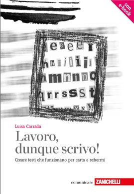 La copertina del manuale di Luisa Carrada