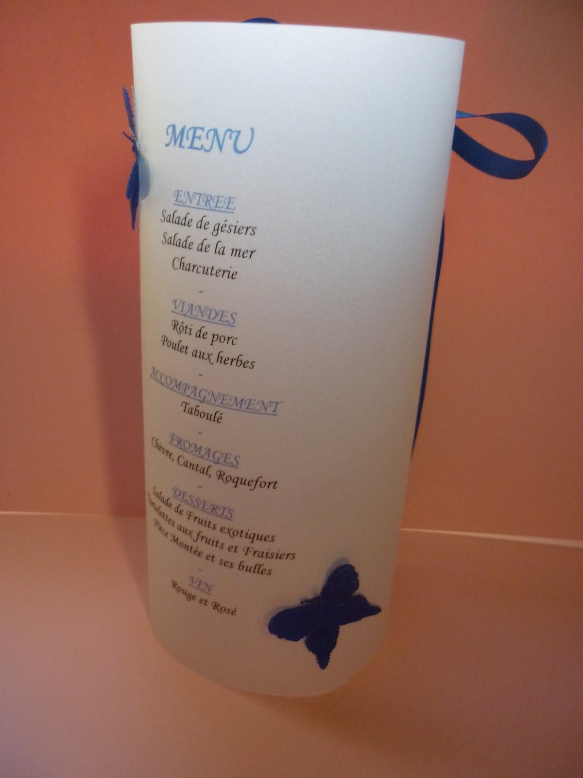 Les menus photophores pour le mariage
