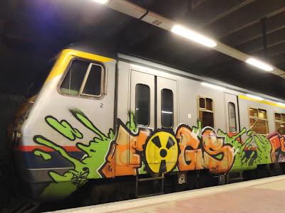Radioactivity and graffiti