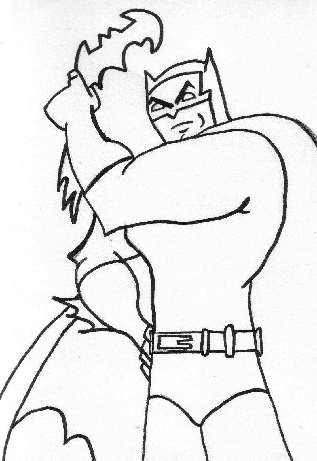 batman coloring pages to print-#32