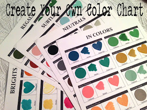 NEW Stampin' Up!® Color Chart Template