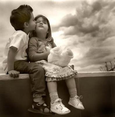 little kid love
