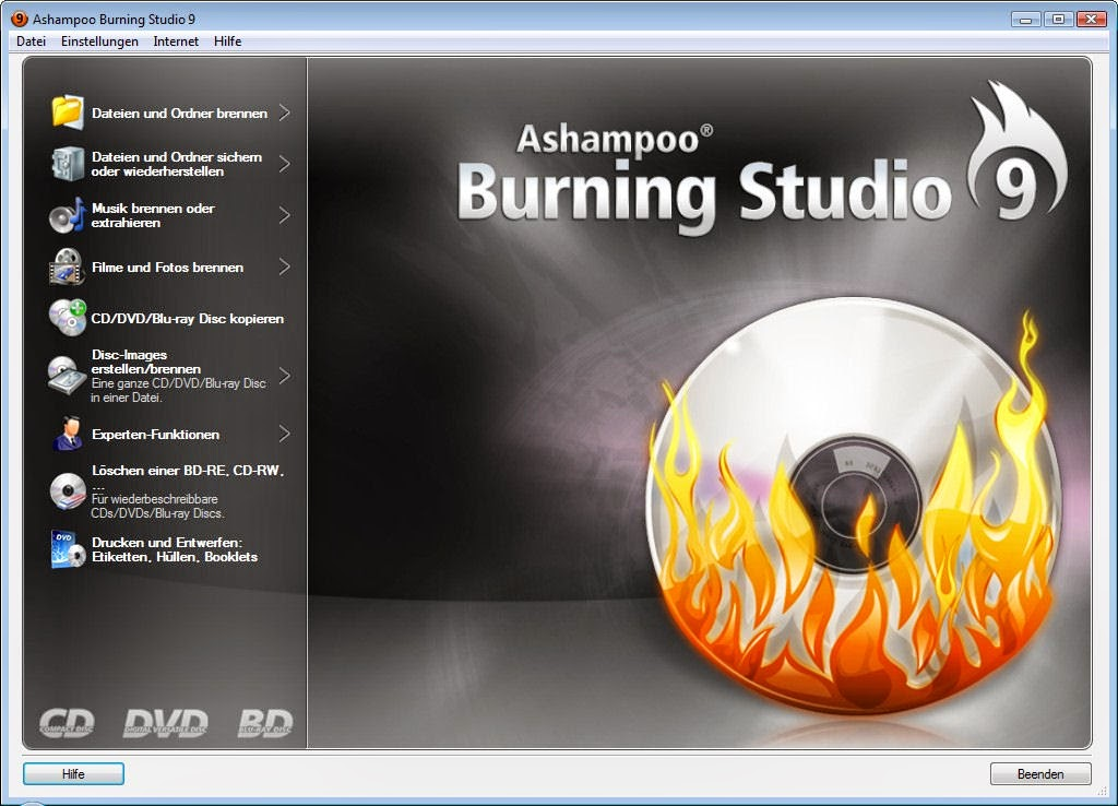 ashampoo burning studio 16 Key Archives