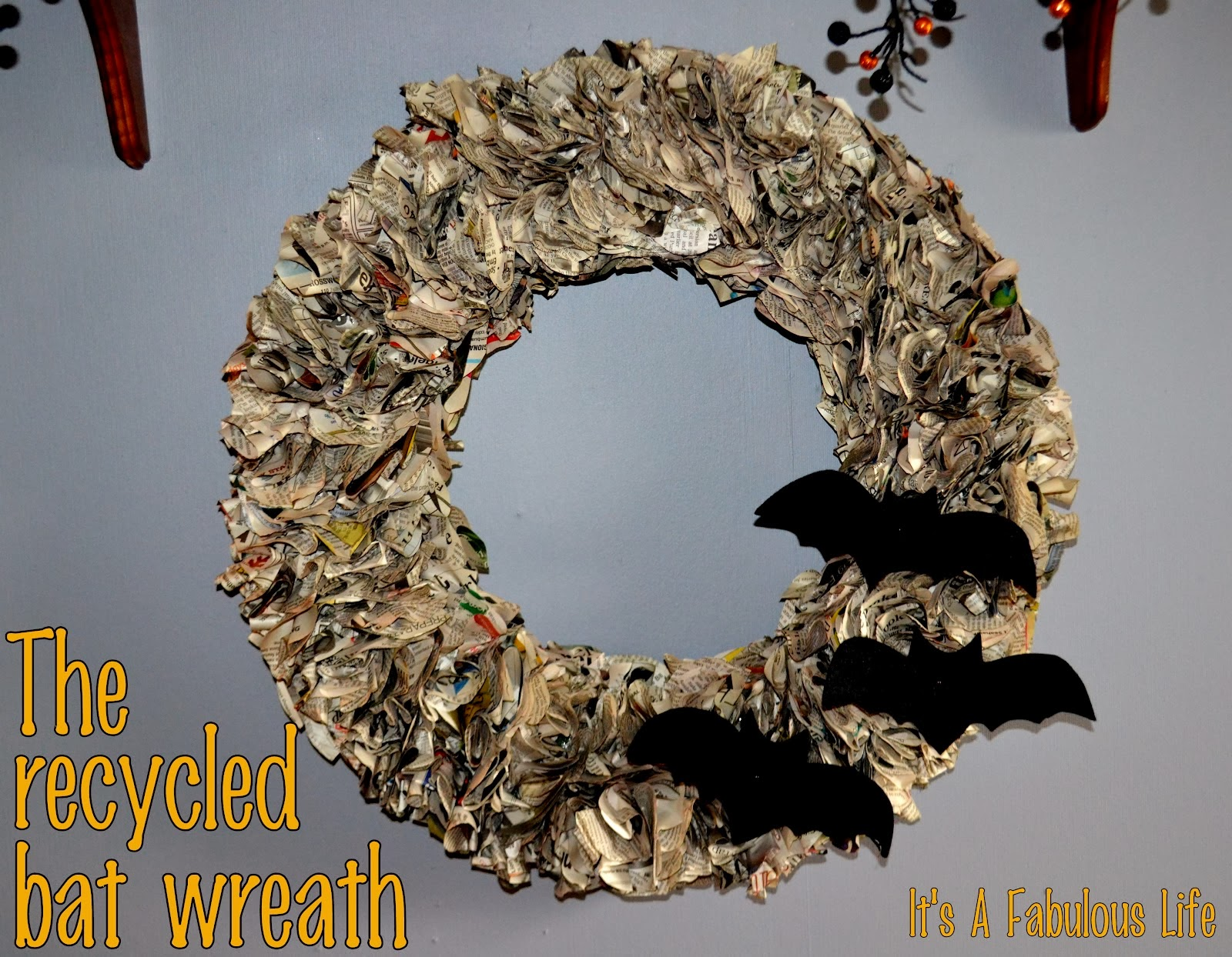 how to recycle - Recycled Halloween Decorations