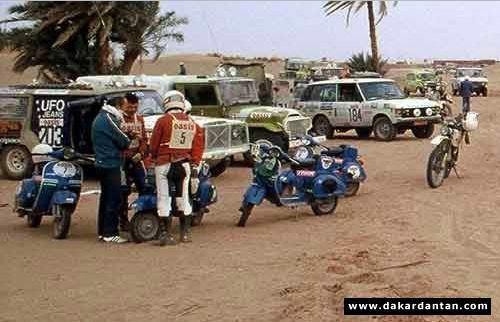 Vespa Paris Dakar 15