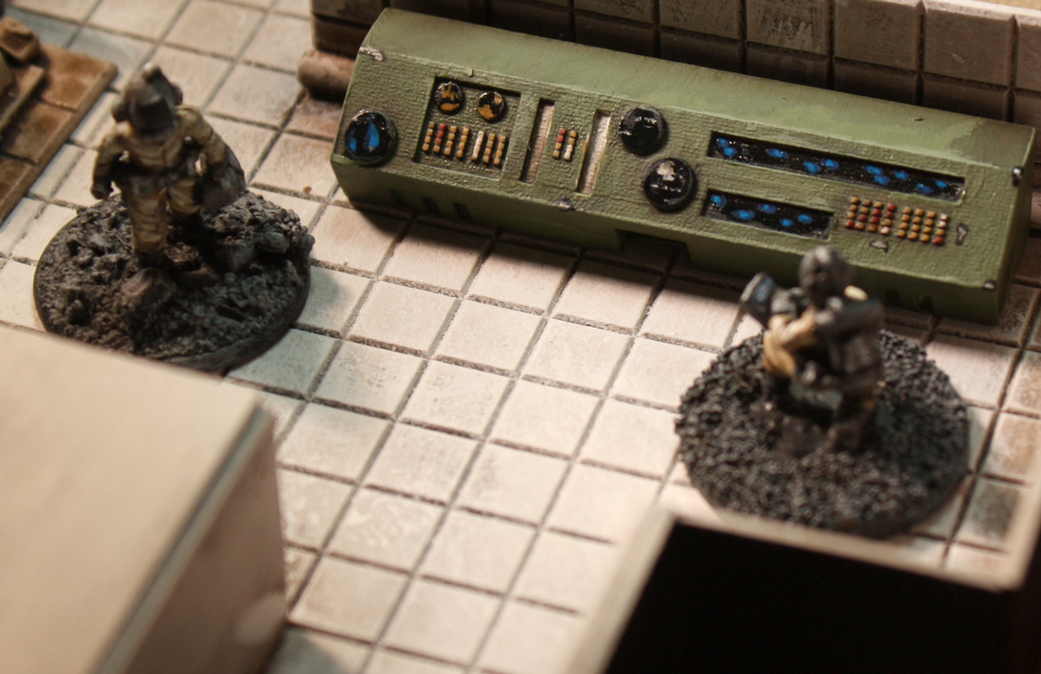ClearHorizon Spaceship Consoles now available from Gamecraft Miniatures!