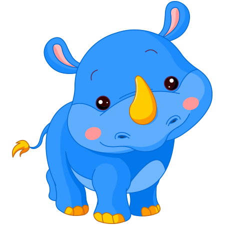 Baby rhino icon