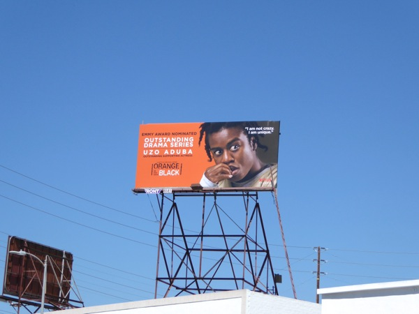 Orange is the New Black 2015 Emmy billboard