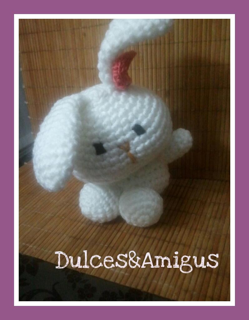 Amigurumi Conejo Kawaii : Patr�n amigurumi conejo kawaii dulcesamigus
