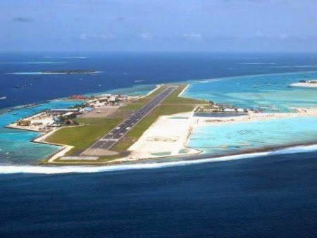 most unique aircraft landing spot on earth