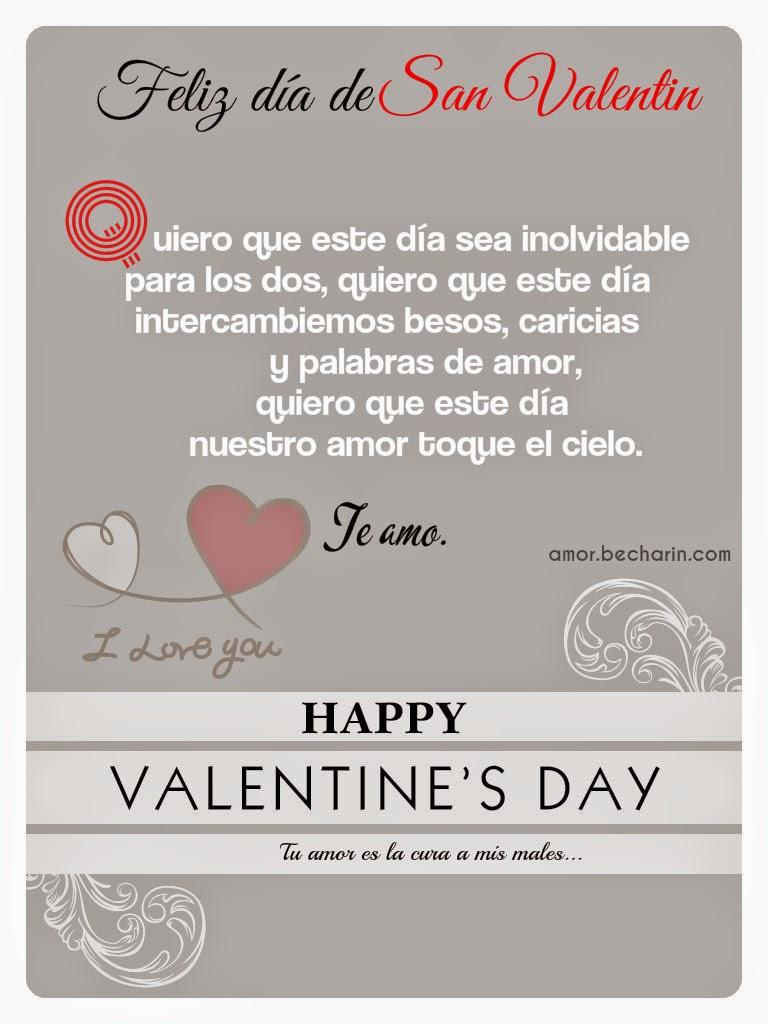 Tarjeta de San Valentín para mi pareja