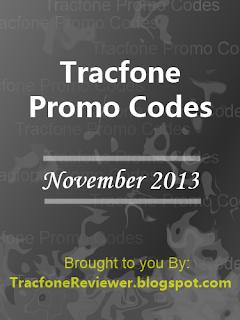 tracfone promo codes november 2013