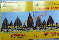 Prambanan Entrance Ticket
