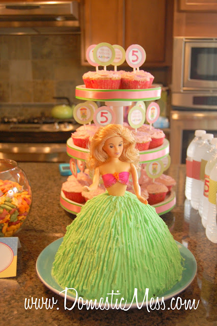 Domestic Mess Addison S 5th Birthday Party A Hawaiian