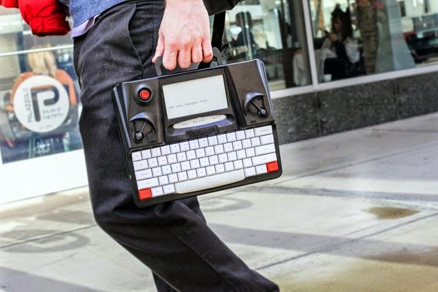 Máquina de Escrever Digital Fácil de Carregar