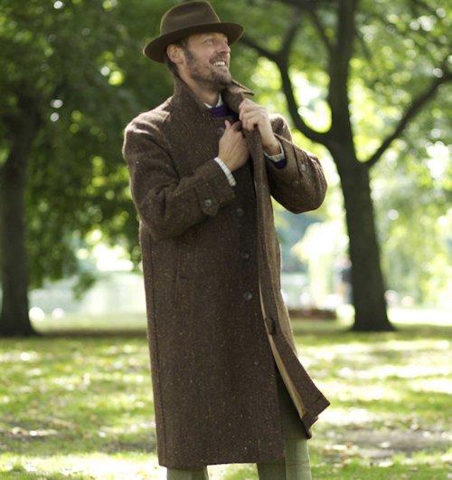Cordings - Donegal Tweed Coat