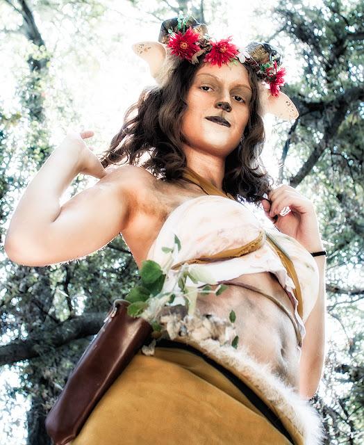 Sesión Sátiro | con Lena KuroHana | cosplay | Color II