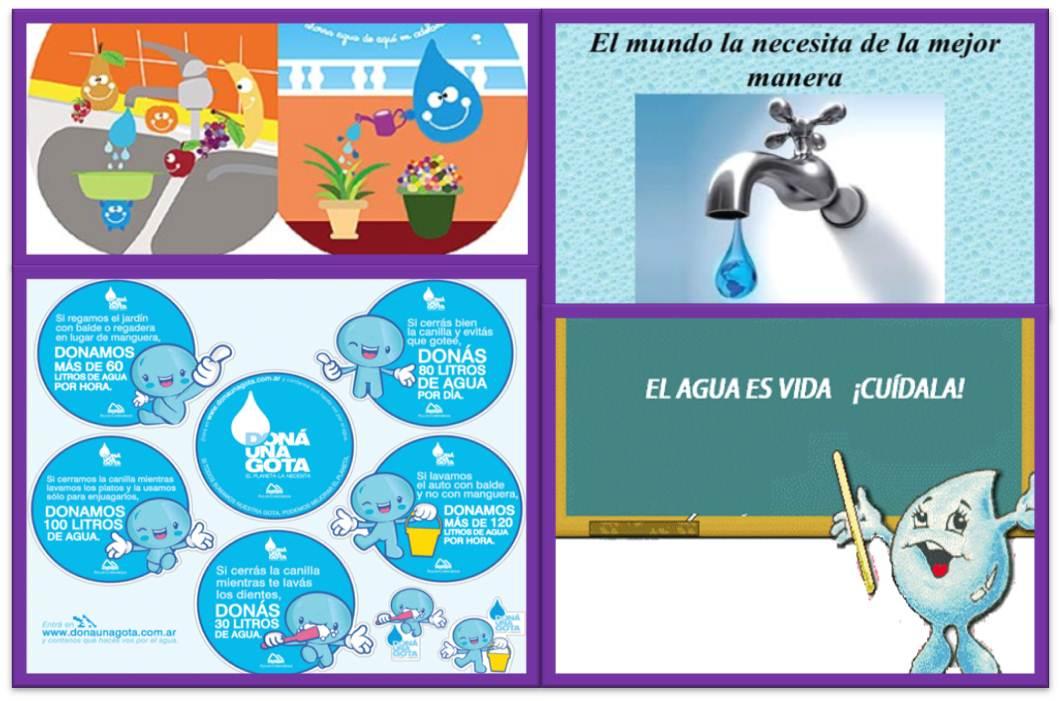 La importancia del Agua y sus cuidados: EL CUIDADO DEL AGUA