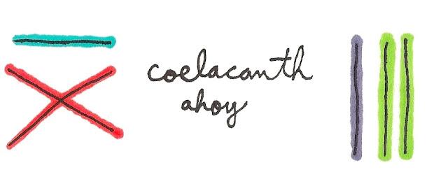 Coelacanth Ahoy!