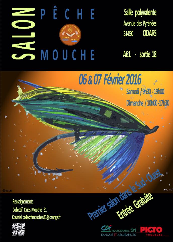 Collectif clubs mouche 31 salon de la p che la mouche artificielle en haute garonne en 2016 - Salon de la peche a la mouche ...