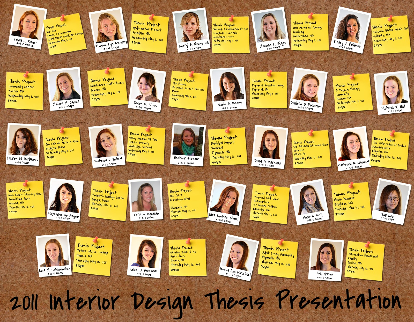 interior design thesis presentation