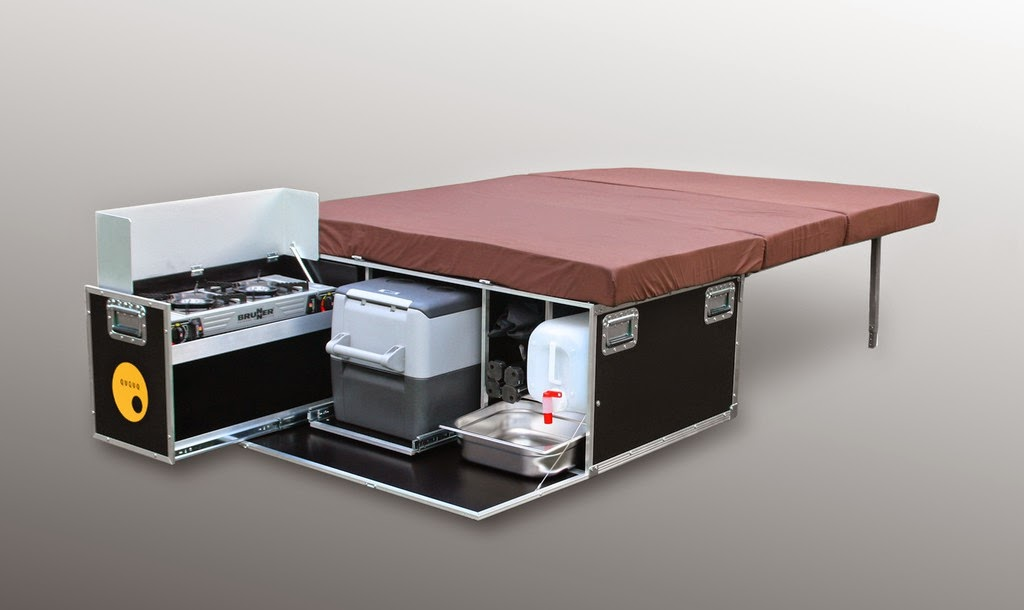 Wohnmobil Dusche Ausbauen : Campingbus: Ausgebaute Kastenwagen – Campingbusse auf dem Caravan