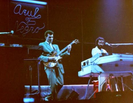 Azul y Negro - Actuación en la madrileña Sala Morasol en 1983