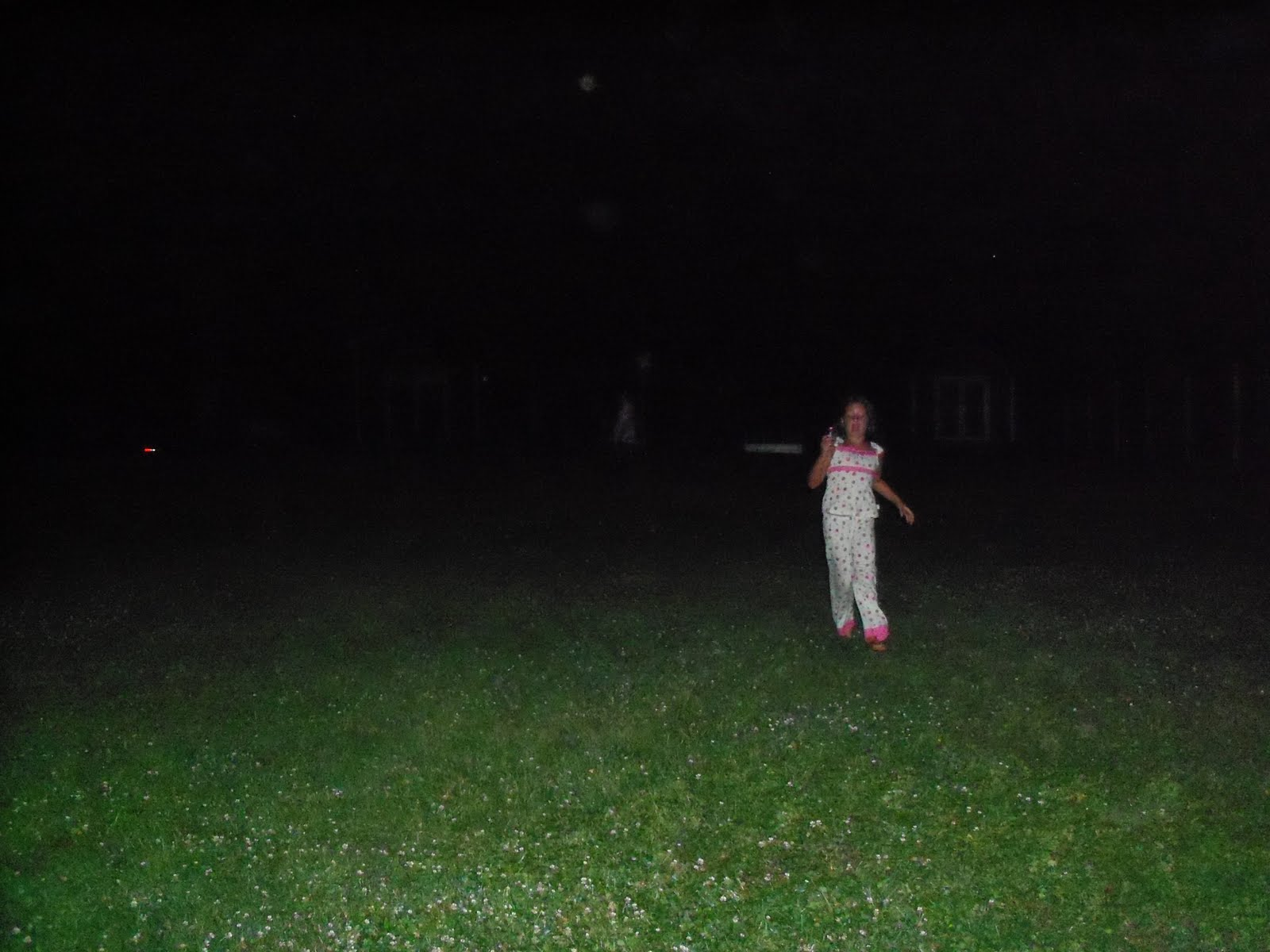 Backyard Sounds At Night : Then it was time to chase lightening bugs before turning in