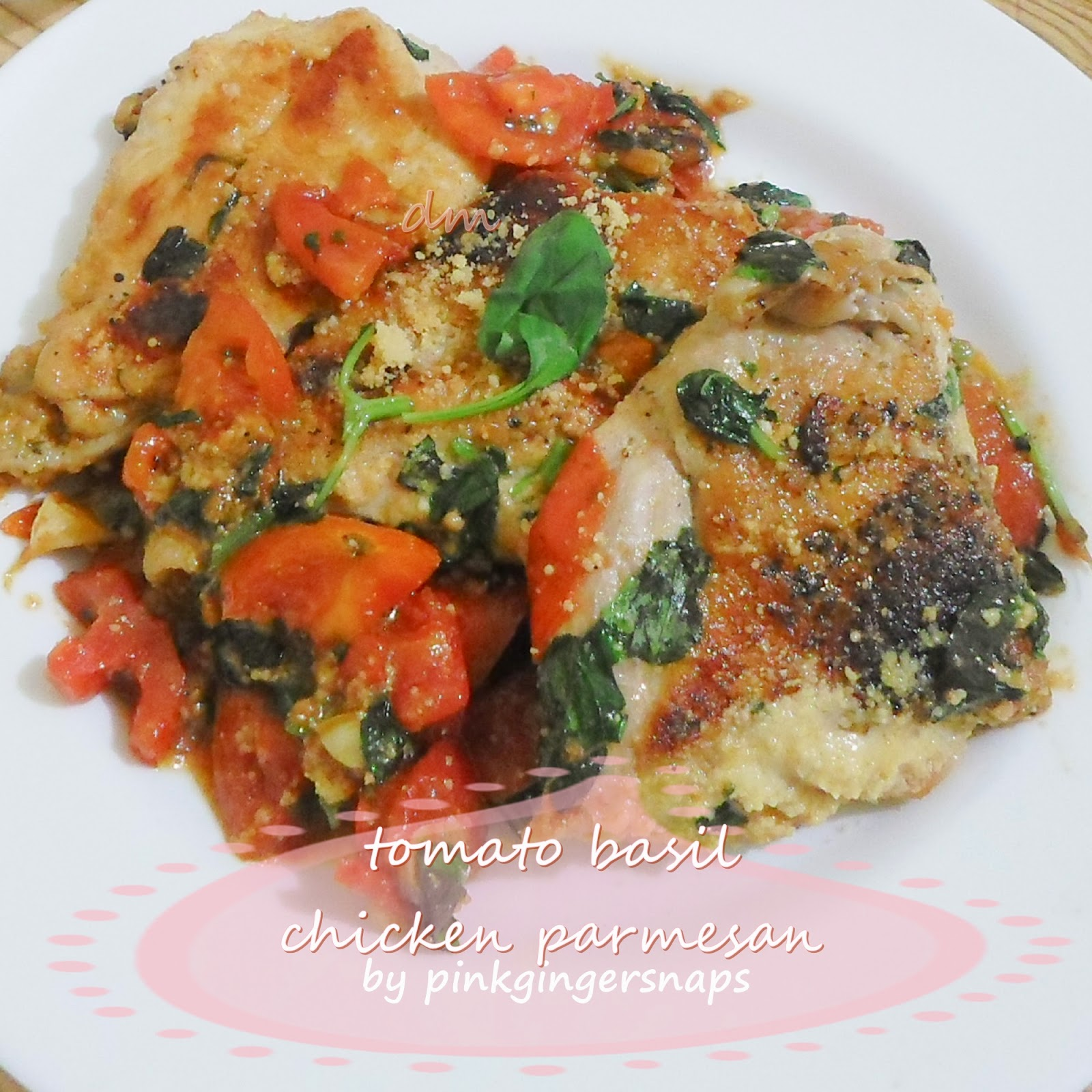 tomato basil chicken from scratch