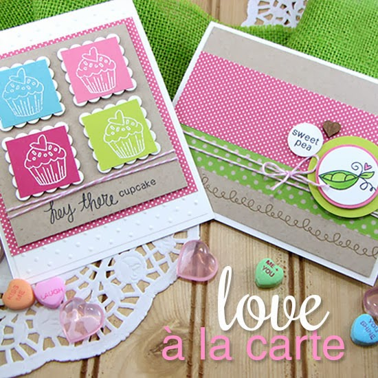 Love à la Carte Stamp Set by Newton's Nook Designs