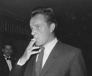 richard burton smoking