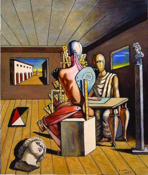 cosa fare a monza nel weekend: opere di De Chirico in mostra alla Reggia di Monza