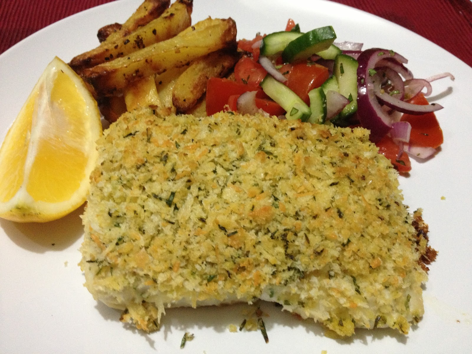 A dash of flavour crunchy parmesan and chive baked fish for Baked fish fillets