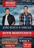 JOÃO BOSCO & VINICIUS NO VILLA CONTE NO DIA 9/12