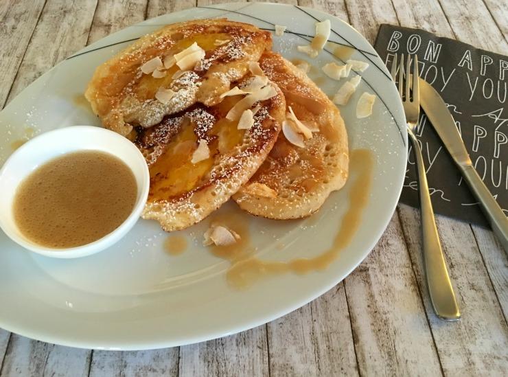 Bücherkaffee Rezeptbild Pancake