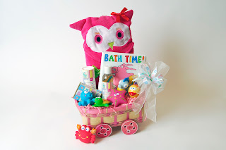 Baby Bath Spa - Baby Girl Gift Basket