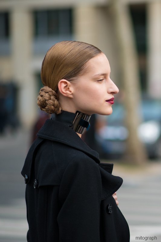 mitograph Luca Adamik After MiuMiu Paris Fashion Week 2013 2014 Fall Winter PFW Street Style Shimpei Mito