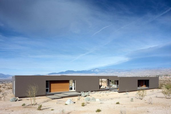 Minimalist prefab modular house california modern prefab for Minimalist house california