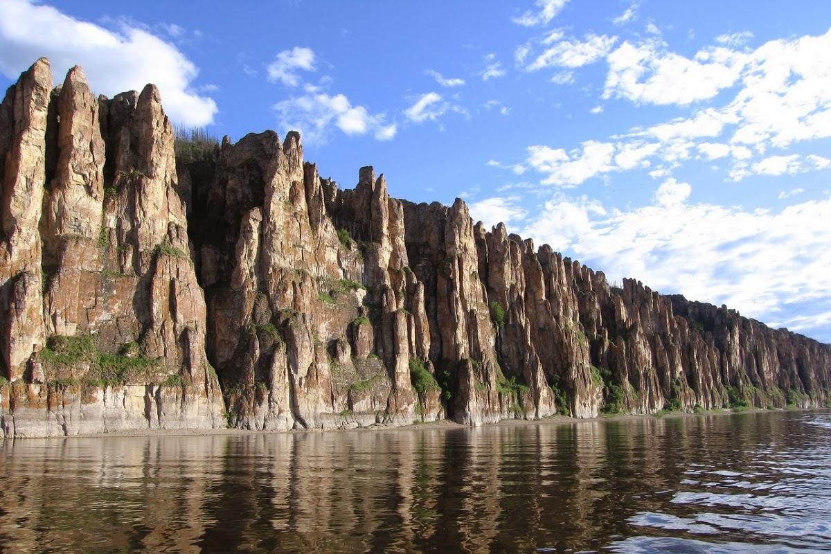 Natural Stone Pillars : Lena s stone pillars russia unbelievable info