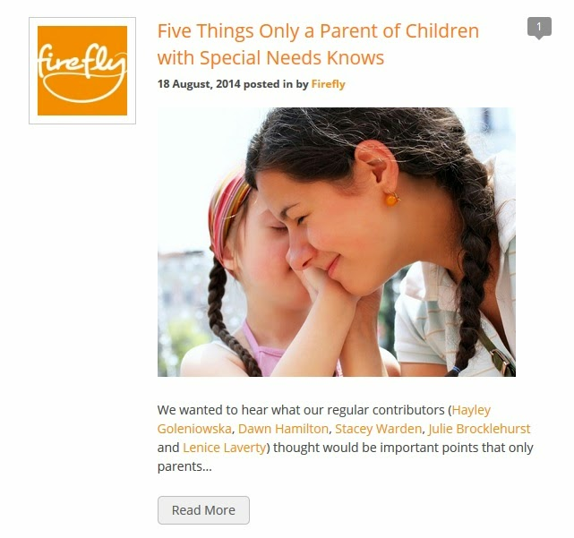 http://www.fireflyfriends.com/special-needs-blog/specific/five-things-only-a-parent-of-children-with-special-needs-knows