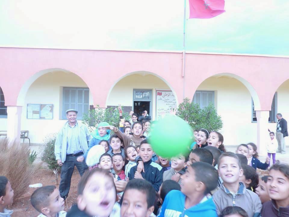 مجموعة مدارس زيد بن ثابت بنيابة بركان تحسس التلاميذ بالمنتدى العالمي لحقوق الإنسان