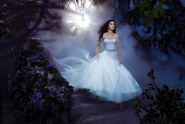 The 2013 alfred angelo disney fairy tale wedding gowns for Cinderella inspired wedding dress