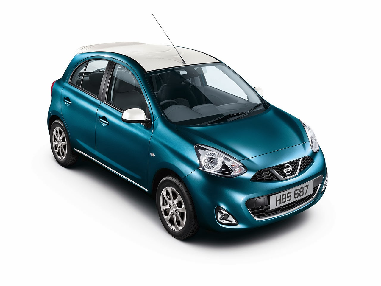 Nissan Limited Edition Micra blue