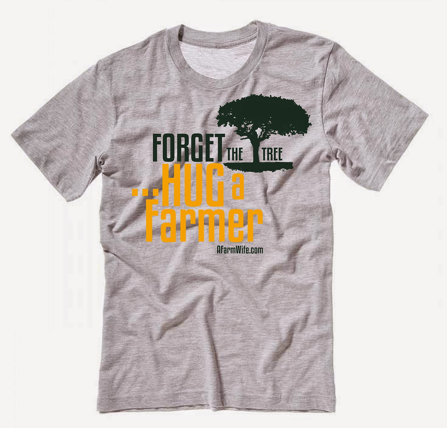 SPECIAL PRICE - YOUTH - Forget the Tree, Hug a Farmer T-Shirt