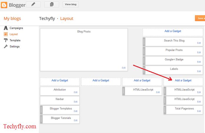 How to add Alexa Rank widget to Blog